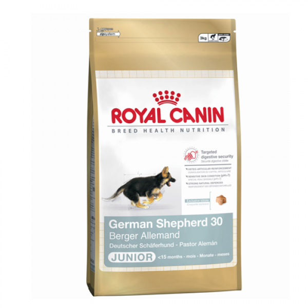 2 X Royal Canin German Shepherd Junior 12 Kg